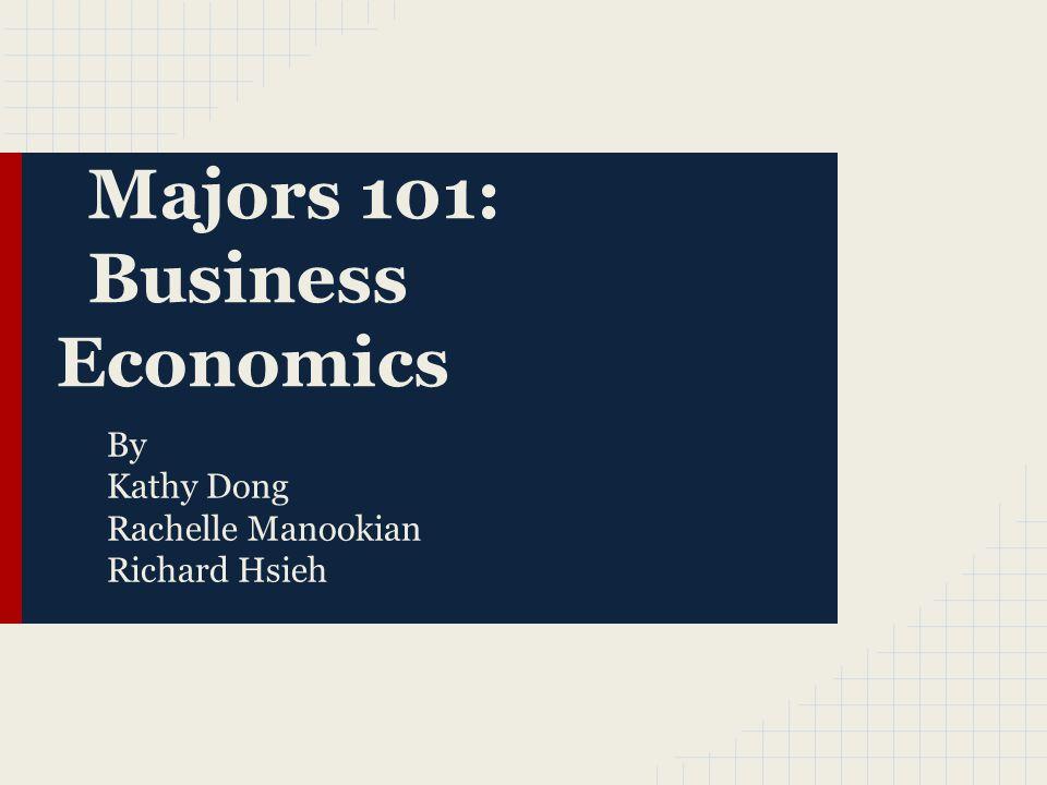 Business Economics.