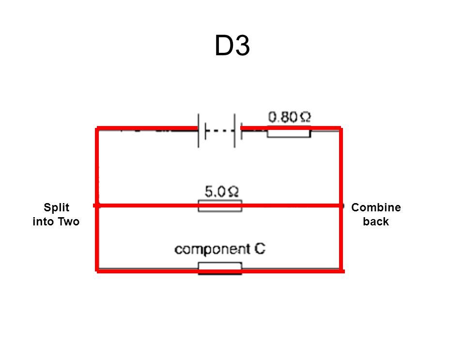 D3 Split into Two Combine back