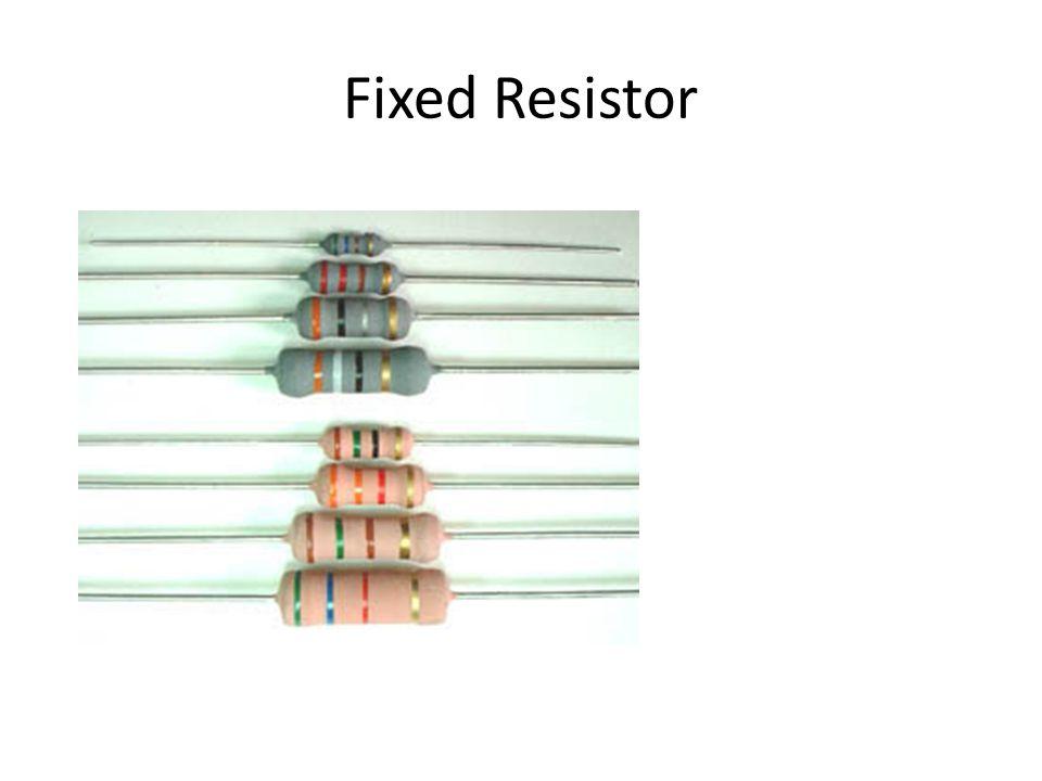 Variable Resistor (Rheostat)