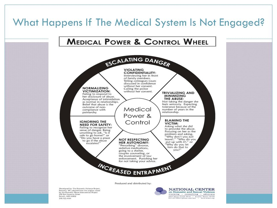 What Happens If The Medical System Is Not Engaged