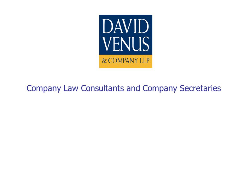 Company Law Consultants and Company Secretaries