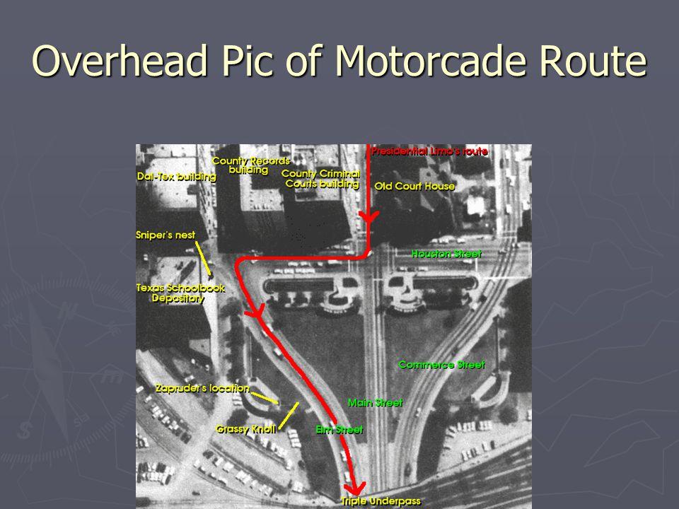 Motorcade on Houston St.