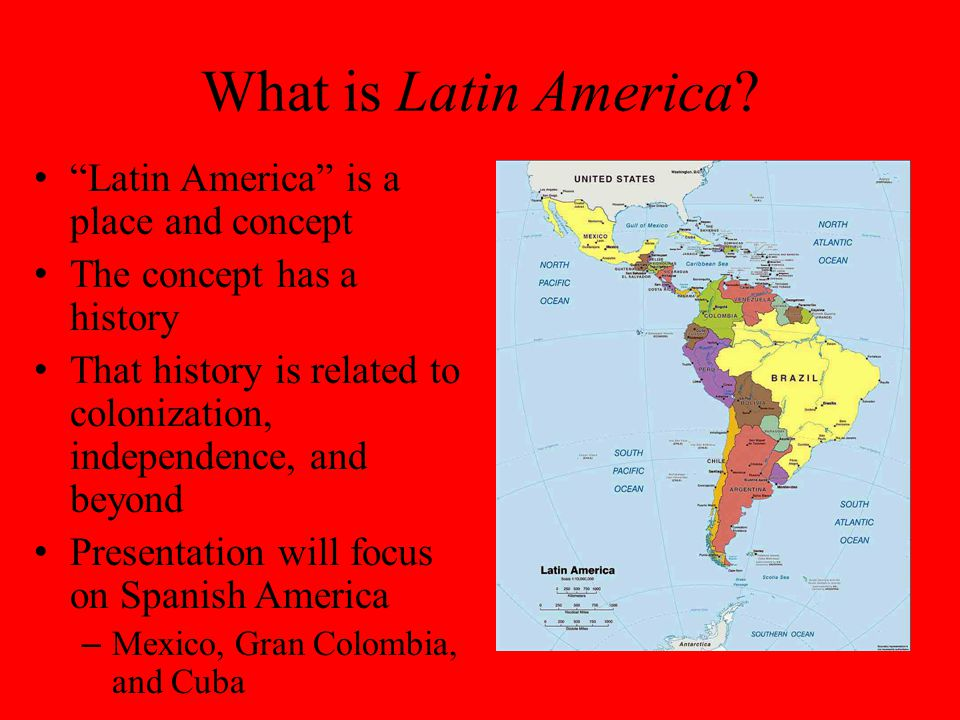 What is Latin America.