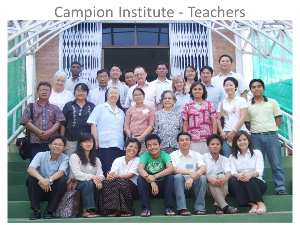 Campion Institute - Teachers