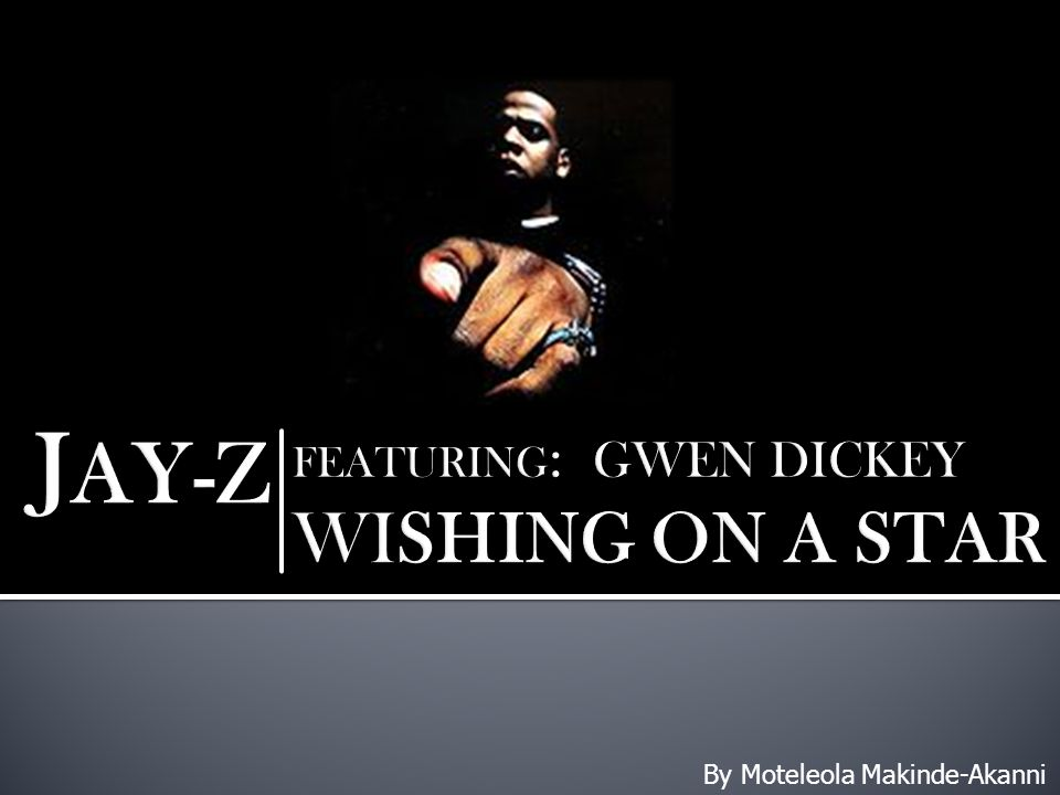 The Video 'Wishing On A Star' portrays a story of Jay- Z's childhood trials and tribulations growing up in his city Marcyville in the 1980's.