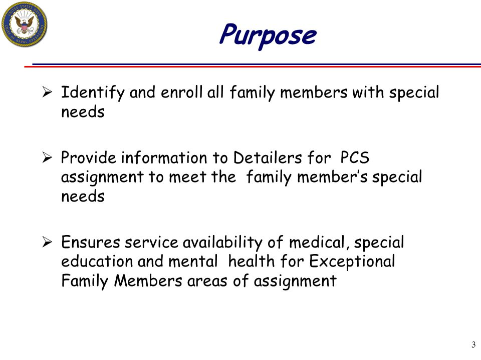 34 Steps to Improve Exceptional Family Program Not following OPNAVINST 1754.2C guidance is the #1 problem.