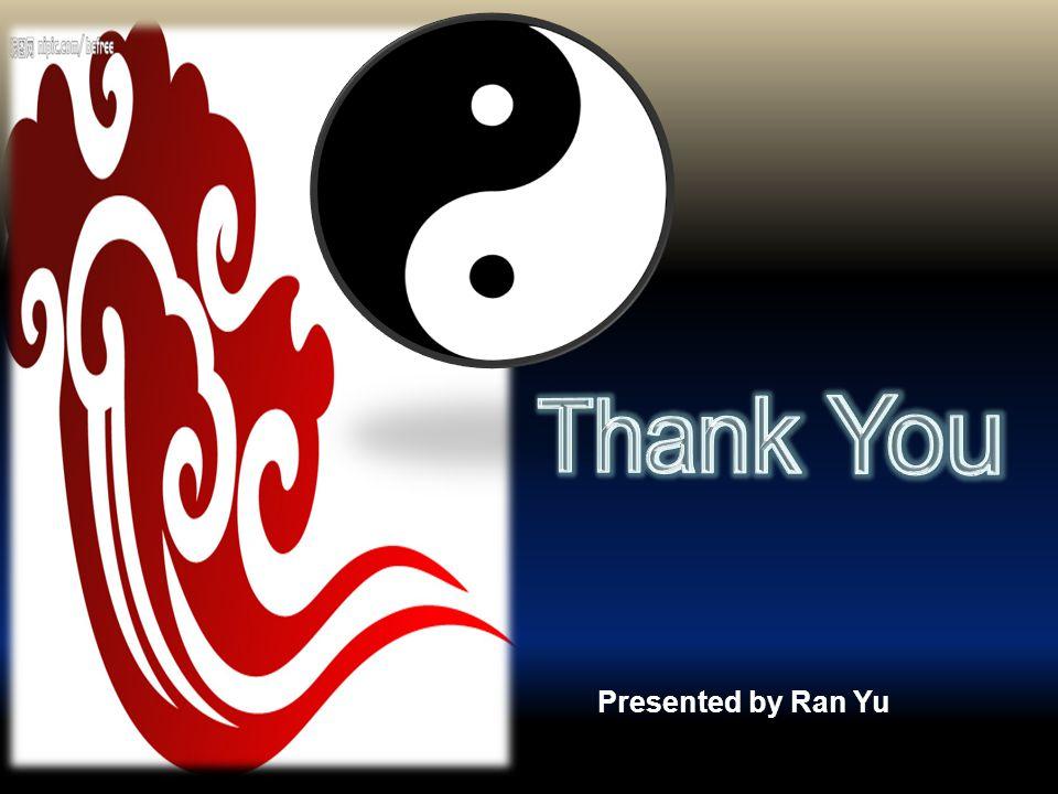Presented by Ran Yu