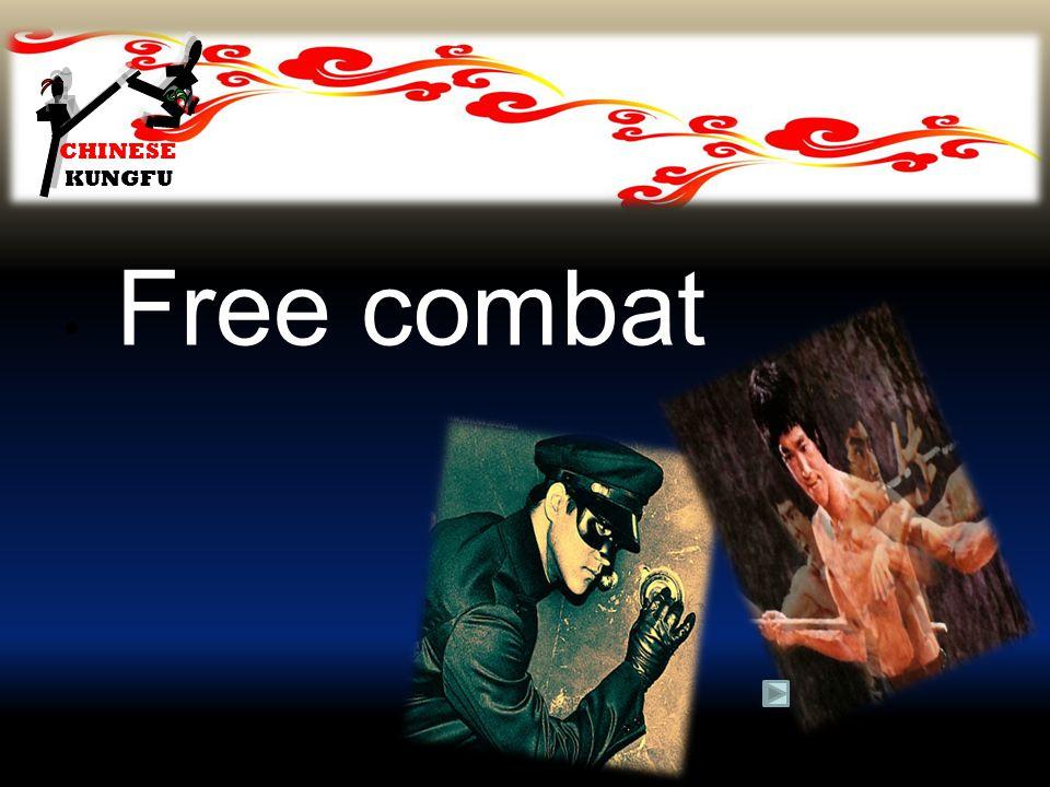 CHINESE KUNGFU Free combat