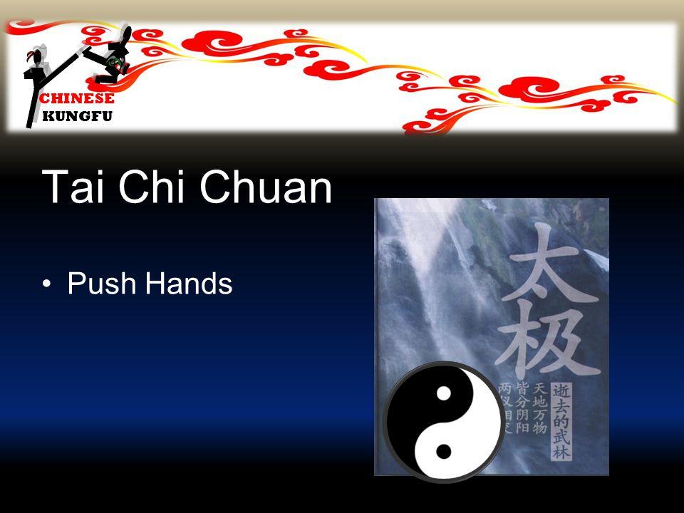 CHINESE KUNGFU Tai Chi Chuan Push Hands