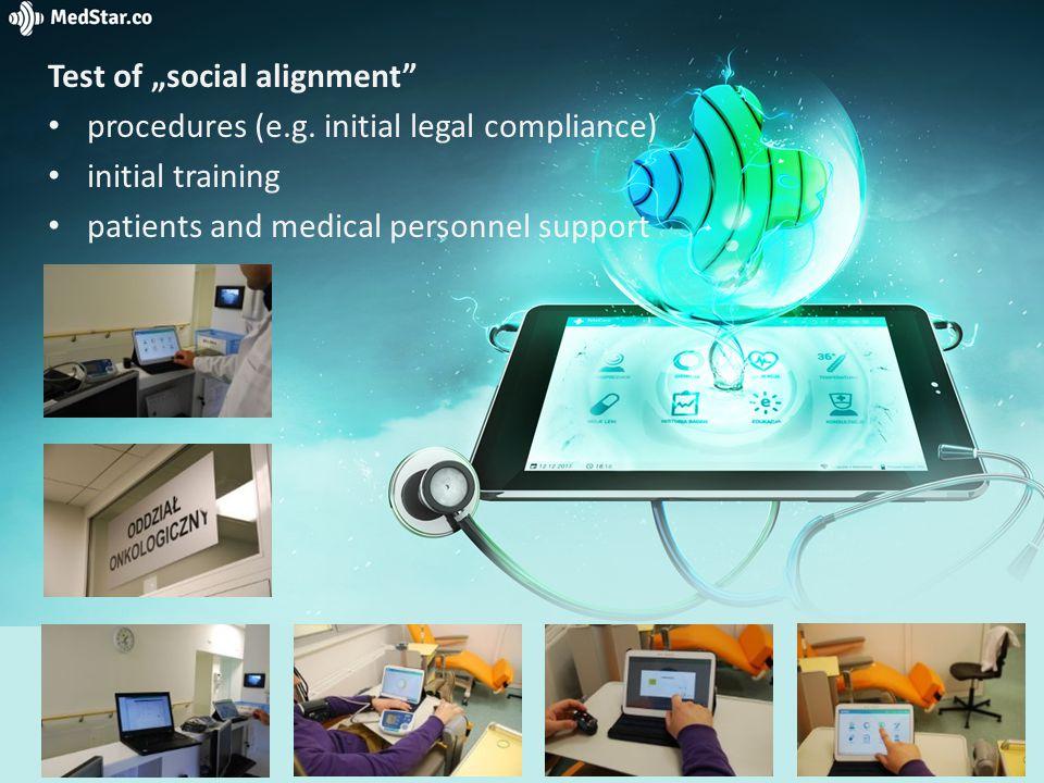 "Test of ""social alignment procedures (e.g."