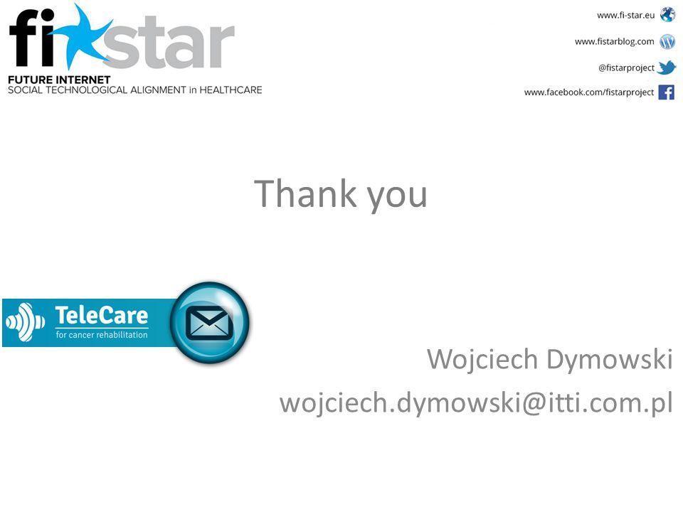 Thank you Wojciech Dymowski wojciech.dymowski@itti.com.pl
