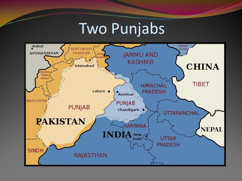 Two Punjabs