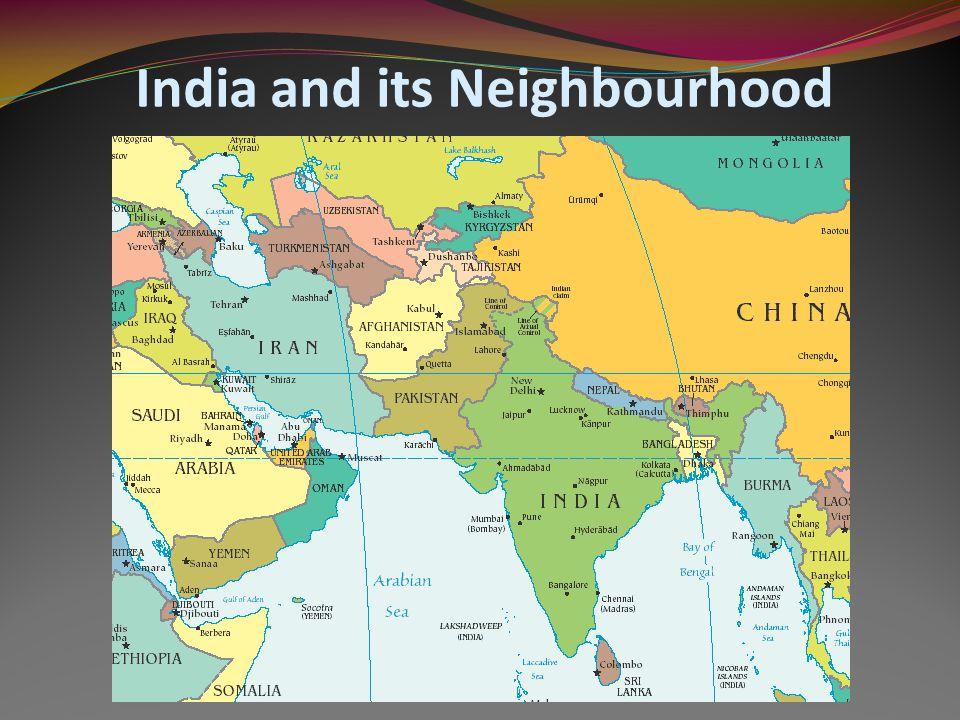 Provincial India and its Neighbourhood