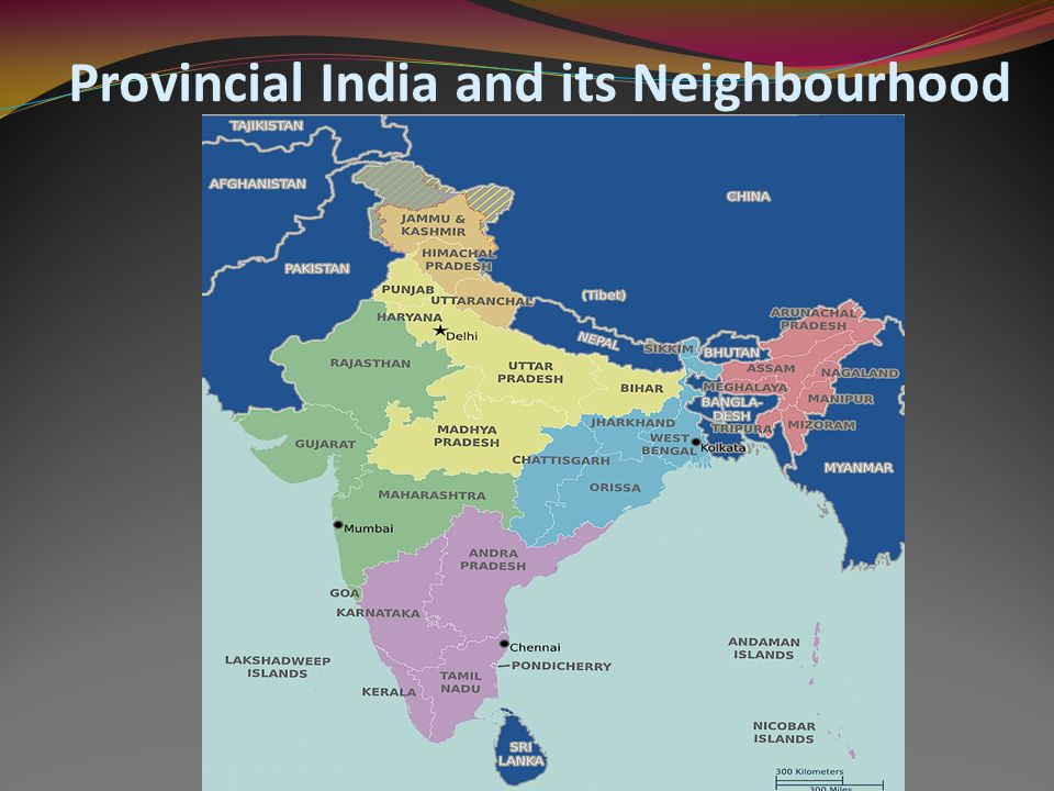 Provincial India and its Neighbourhood