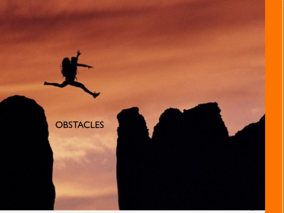 16 OBSTACLES
