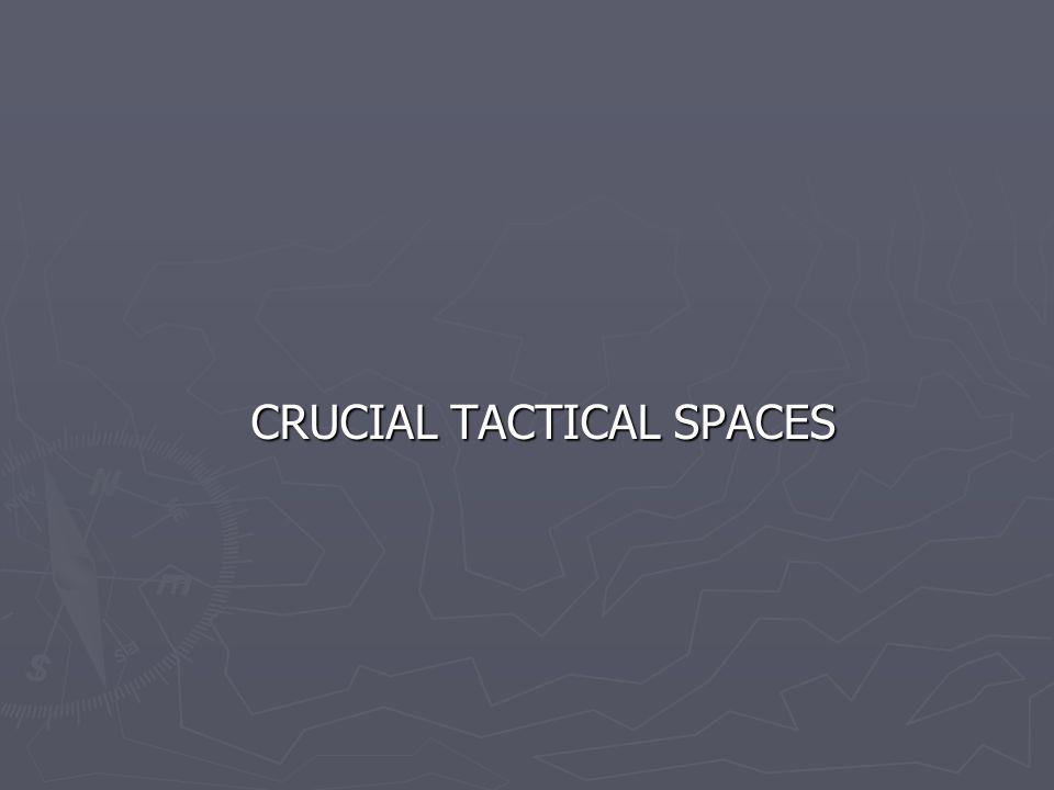 CRUCIAL TACTICAL SPACES CRUCIAL TACTICAL SPACES