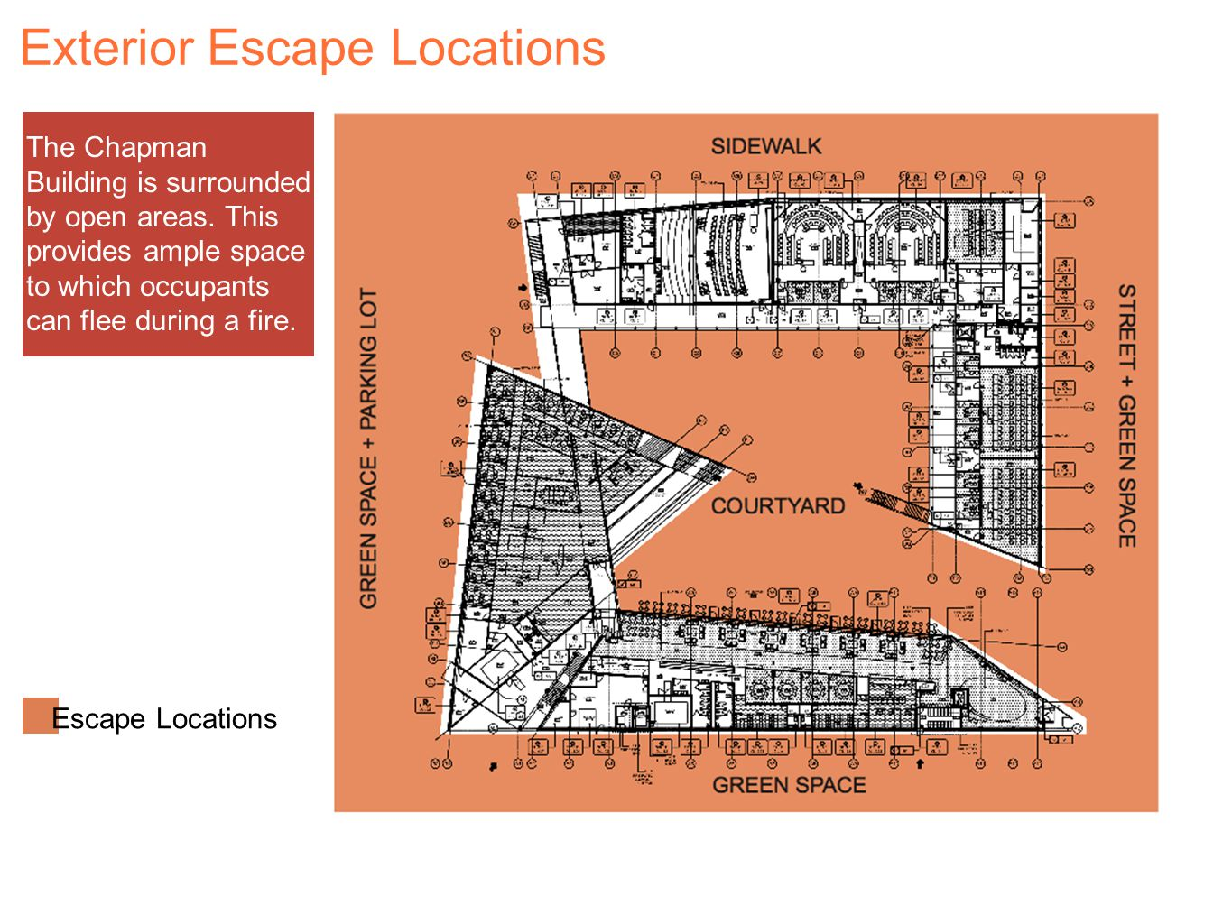 Exterior Escape Locations