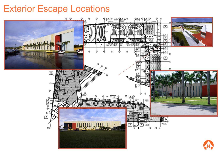 Exterior Escape Locations
