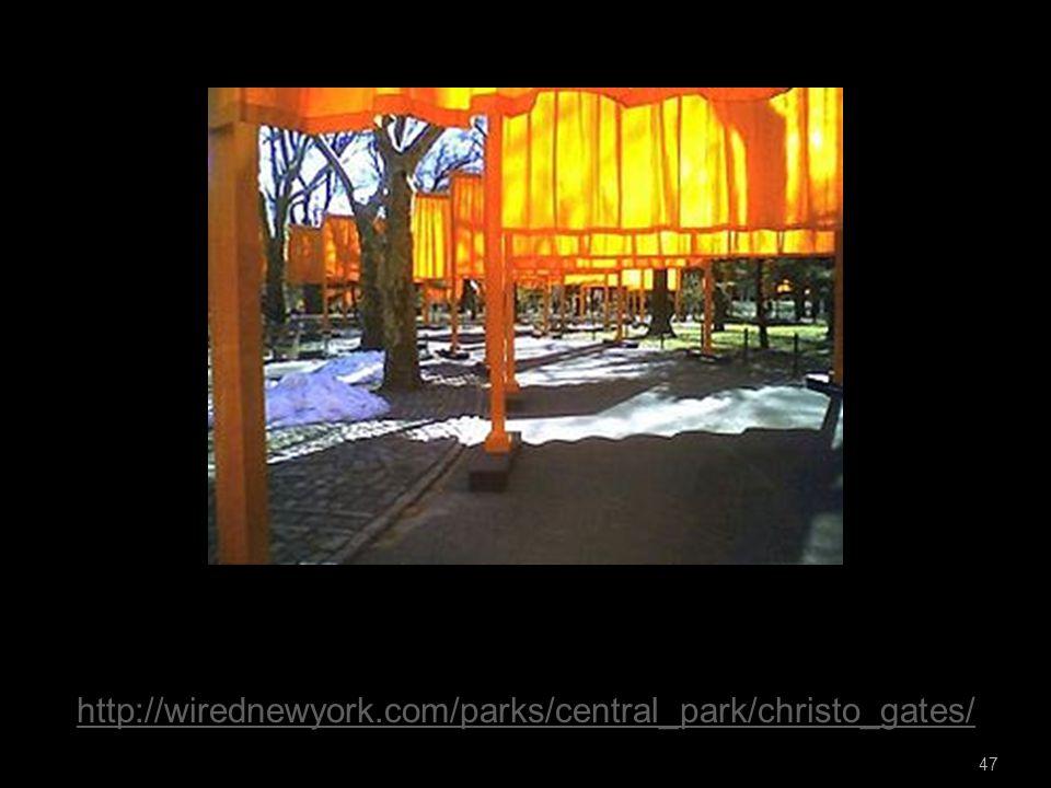 47 http://wirednewyork.com/parks/central_park/christo_gates/