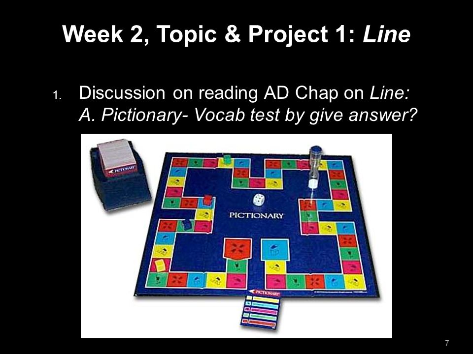 Week 2, Topic & Project 1: Line  Discussion on reading AD Chap on Line: A.