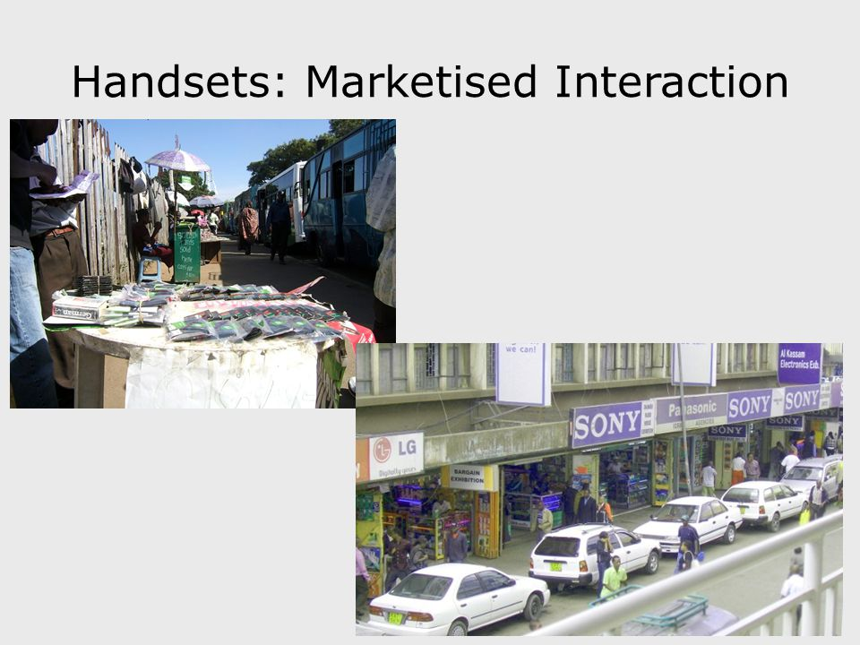 Handsets: Marketised Interaction