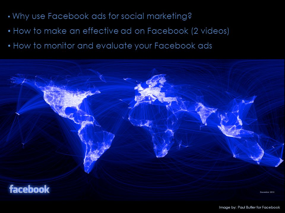Why use Facebook ads for social marketing.