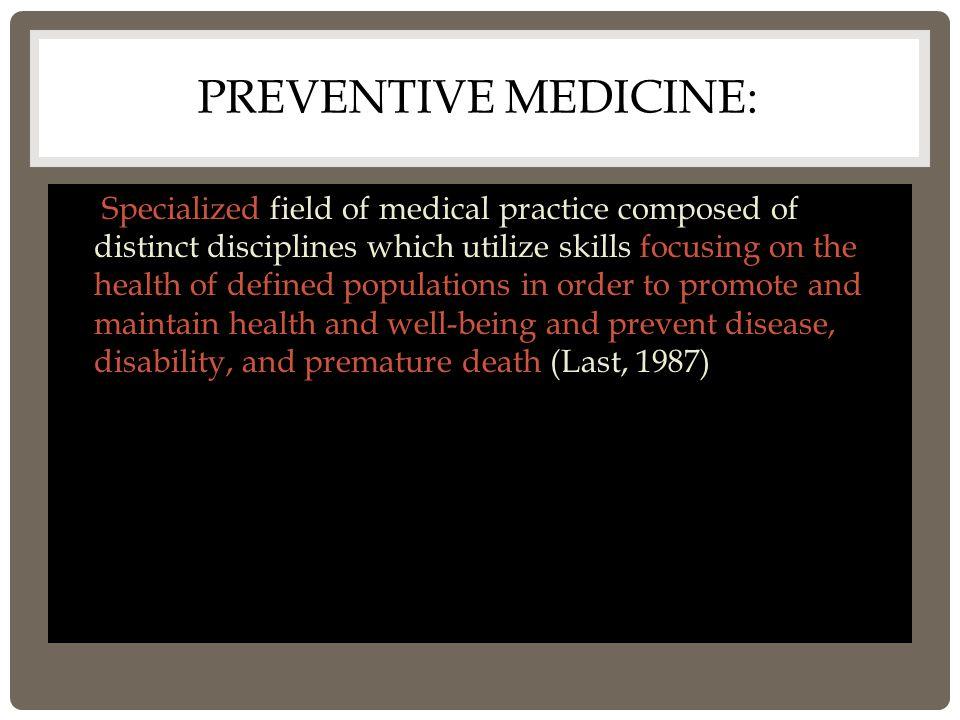 FAMILY MEDICINE 2.NEW DISCIPLINE 3. HAS EVOLVED FROM G.P 1.