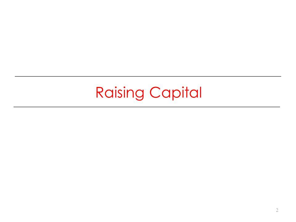 Raising Capital 2
