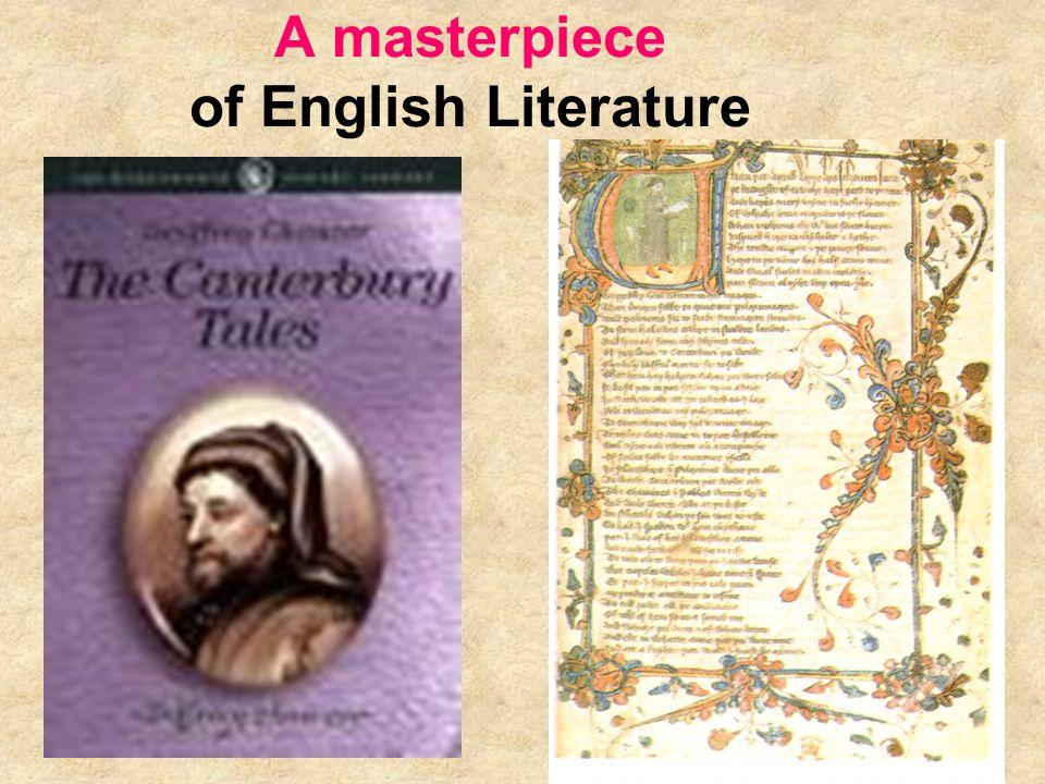 A masterpiece of English Literature