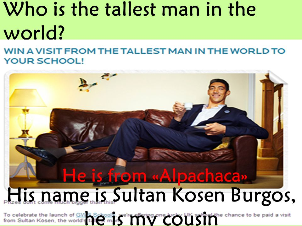 Who is the tallest man in the world.