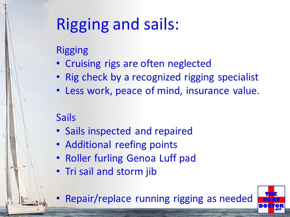 Navigation and Routing Navigation Basic navigation including finding and plotting position, maintaining a log, basic dead reckoning plot.