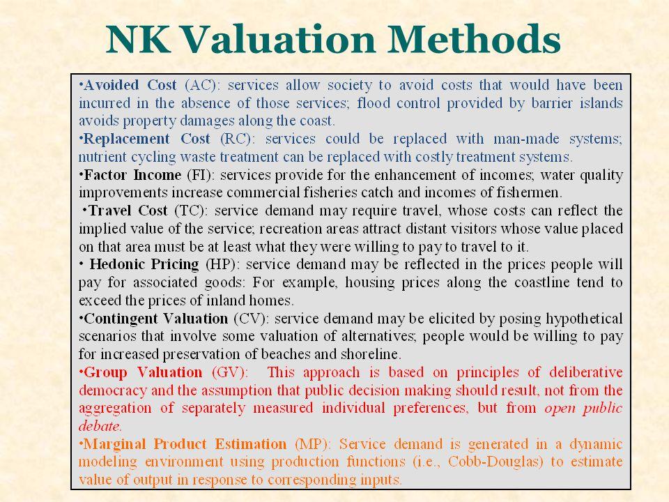 NK Valuation Methods