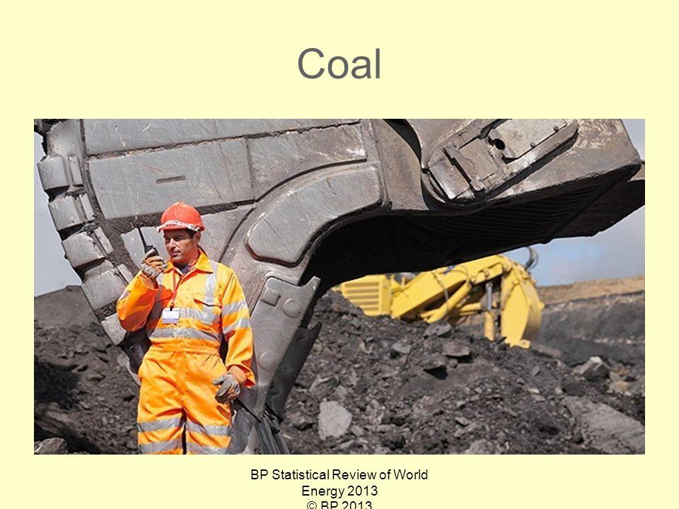 Coal BP Statistical Review of World Energy 2013 © BP 2013