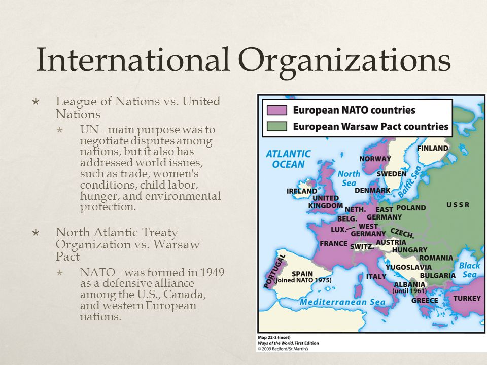 The Cold War  The Cold War:  The decades-long period after World War II that centered around tensions between the two most powerful countries that emerged from the war: the United States and the Soviet Union.