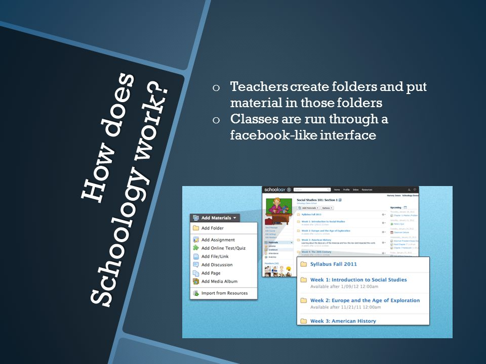 How does Schoology work.