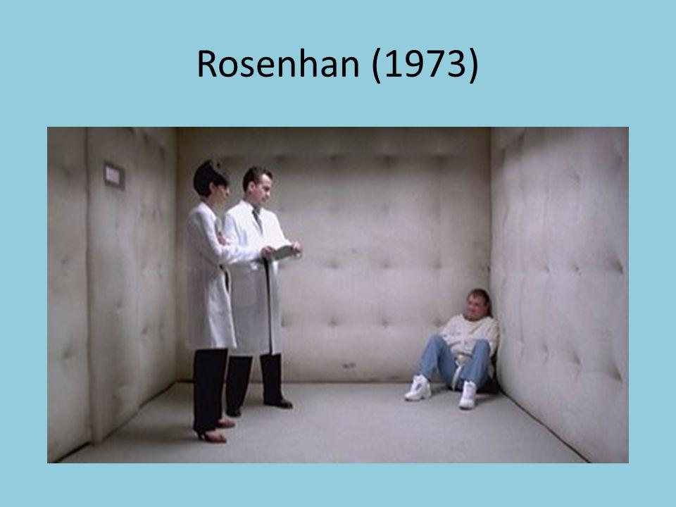 Rosenhan (1973)