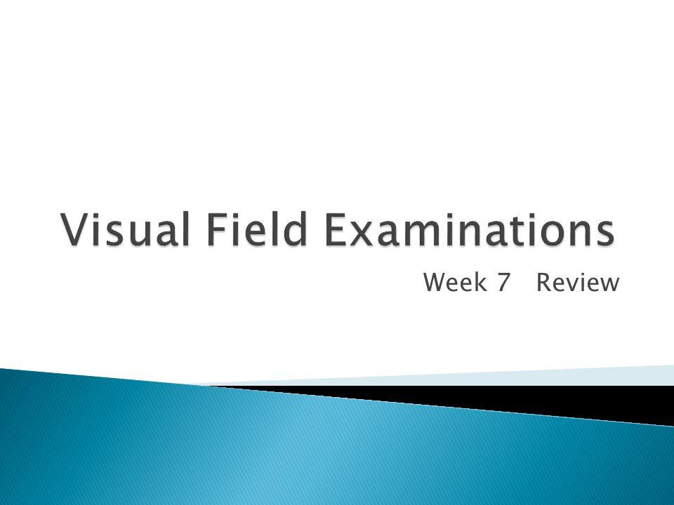 Week 7 Review