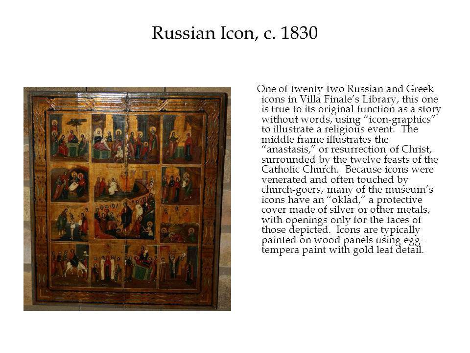 Russian Icon, c.