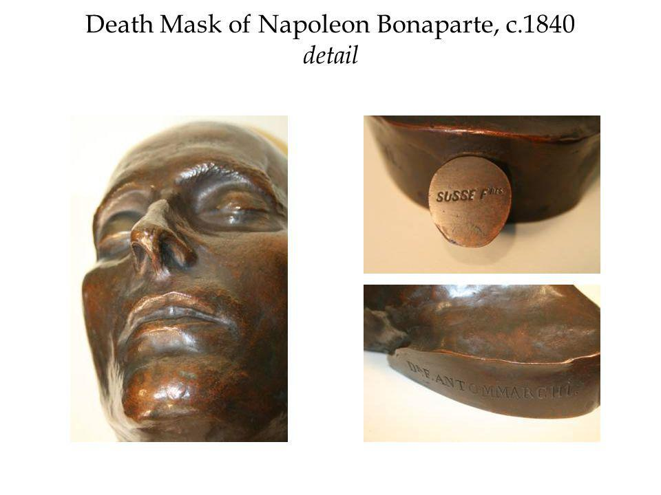 Death Mask of Napoleon Bonaparte, c.1840 detail