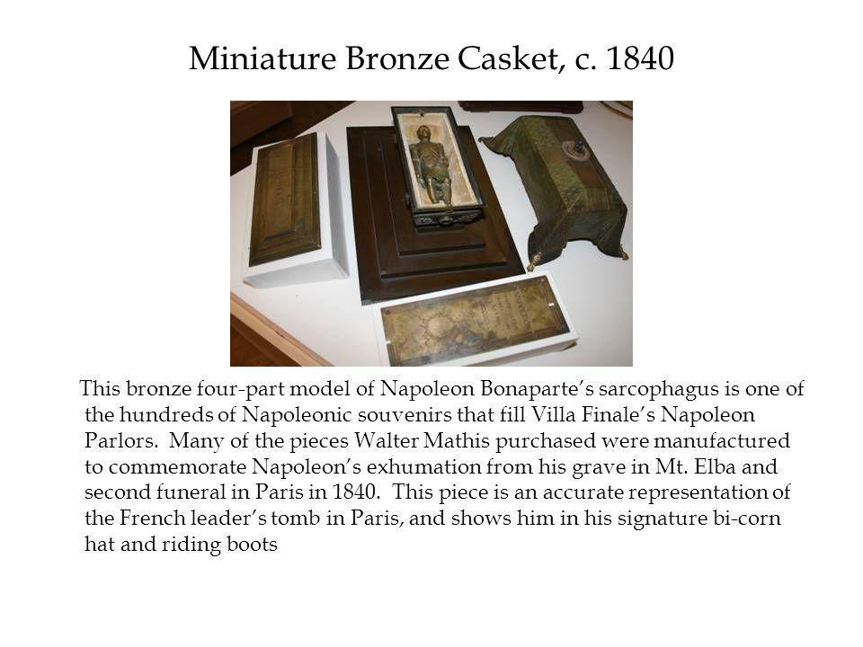 Miniature Bronze Casket, c.
