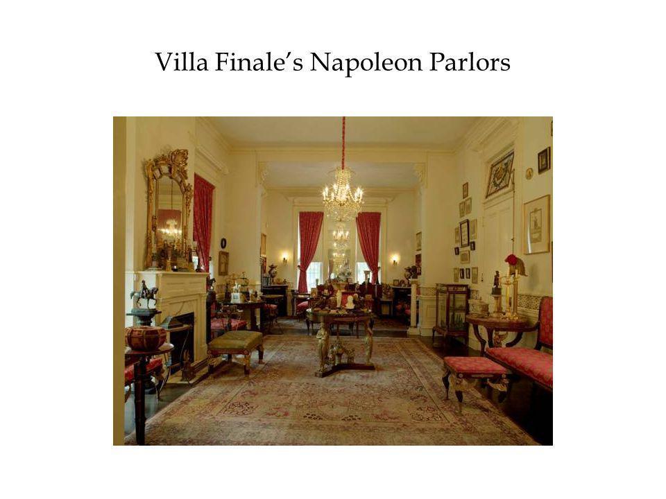 Villa Finale's Napoleon Parlors