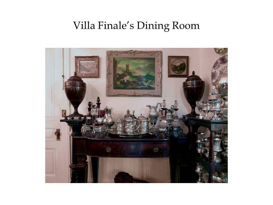 Villa Finale's Dining Room