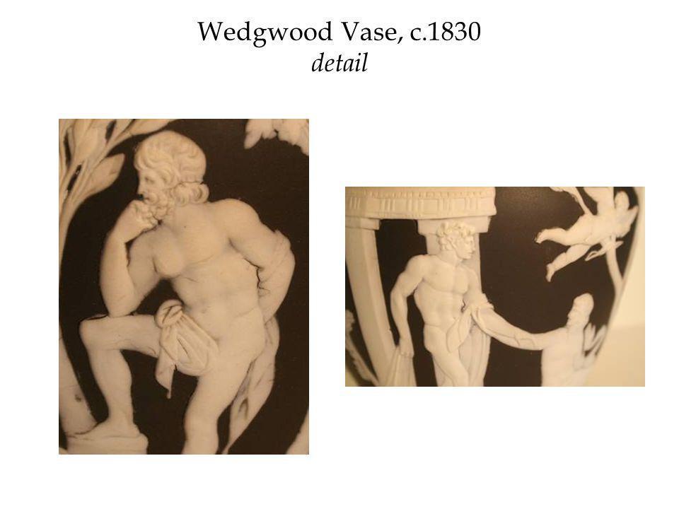 Wedgwood Vase, c.1830 detail