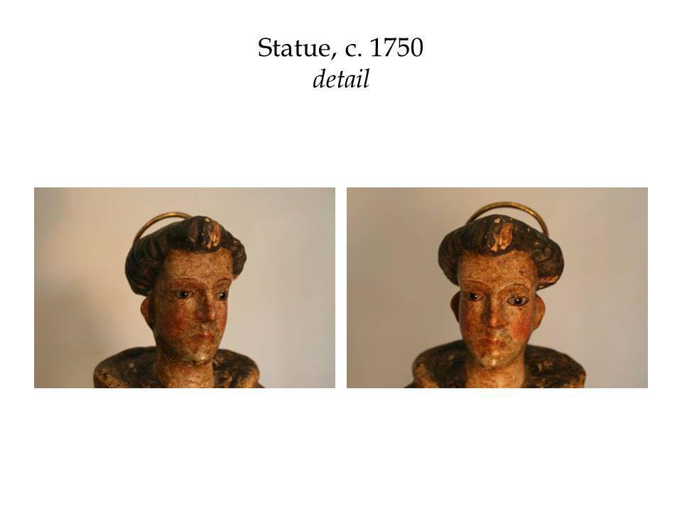 Statue, c. 1750 detail