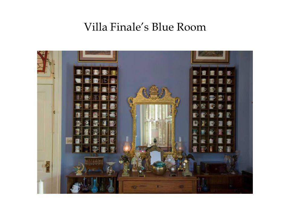 Villa Finale's Blue Room