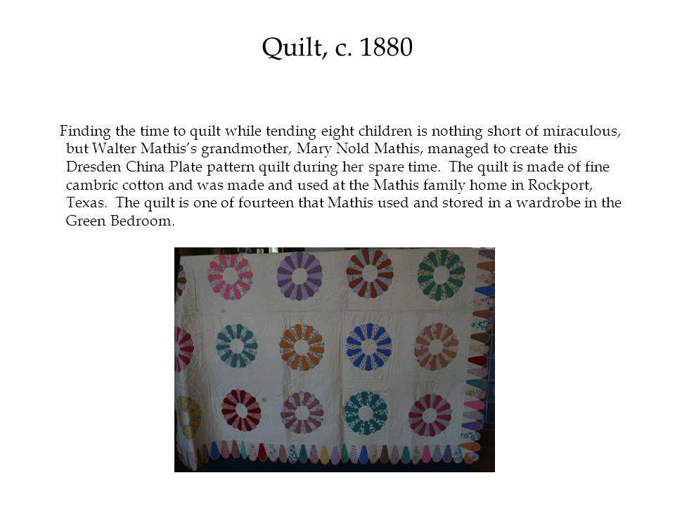Quilt, c.