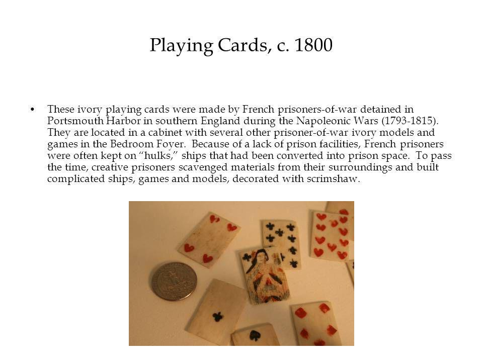 Playing Cards, c.