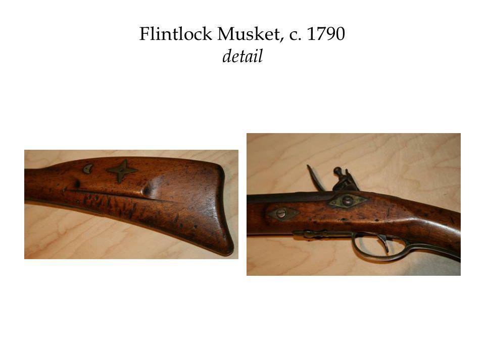 Flintlock Musket, c. 1790 detail
