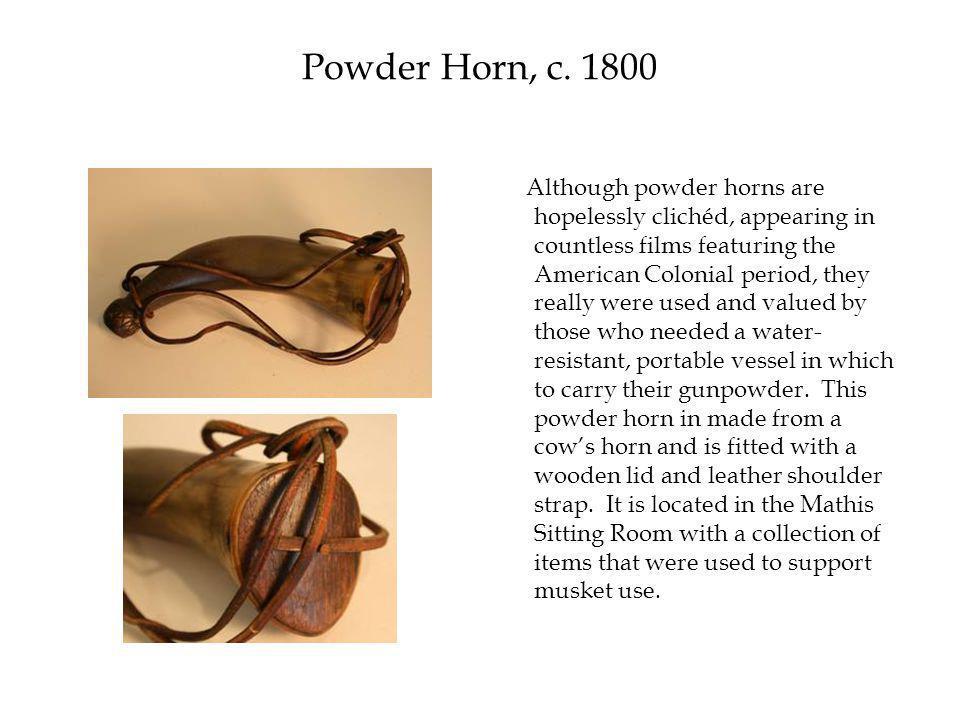Powder Horn, c.