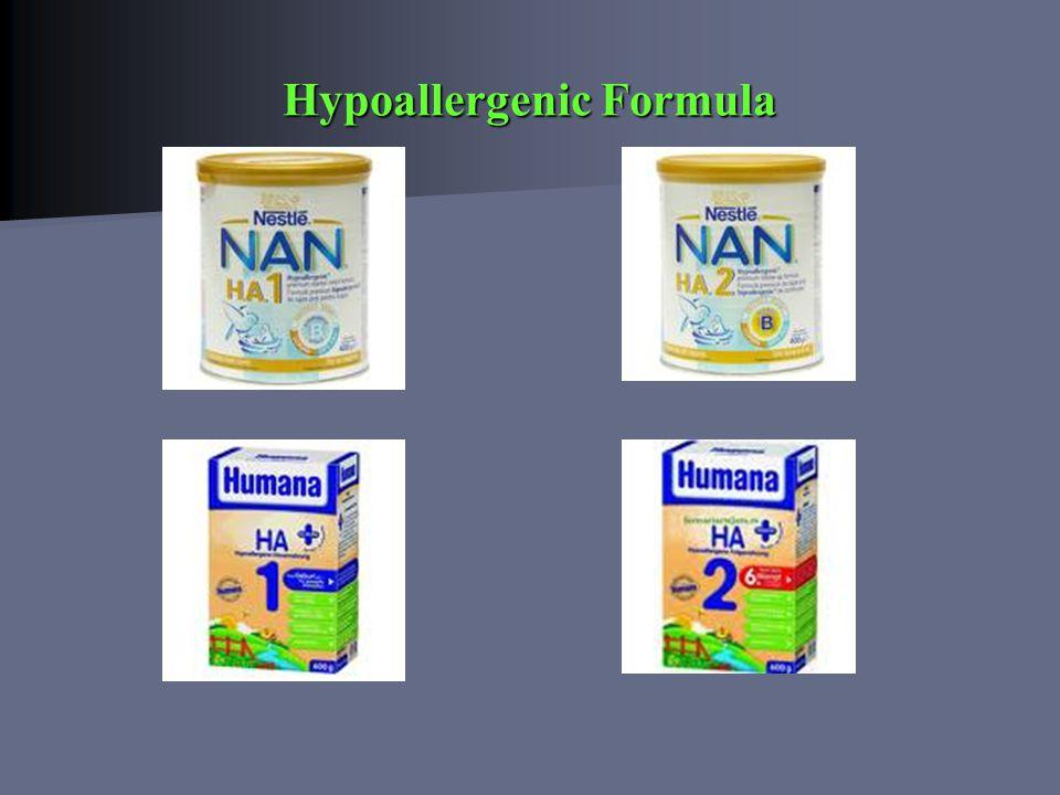 Hypoallergenic Formula